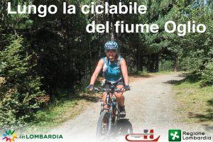 PASSO DEL TONALE - MANTUA RIDING ALONG OGLIO RIVER'S CYCLE PATH TOGETHER WITH SUSANNA ALLEGRI